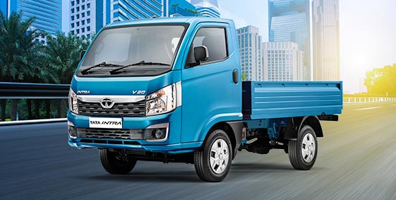 What is the on road price of Tata Intra Compact Truck?