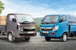 Specifications of Tata Intra V10 Pickup and Intra V30 Smart Pickup Trucks