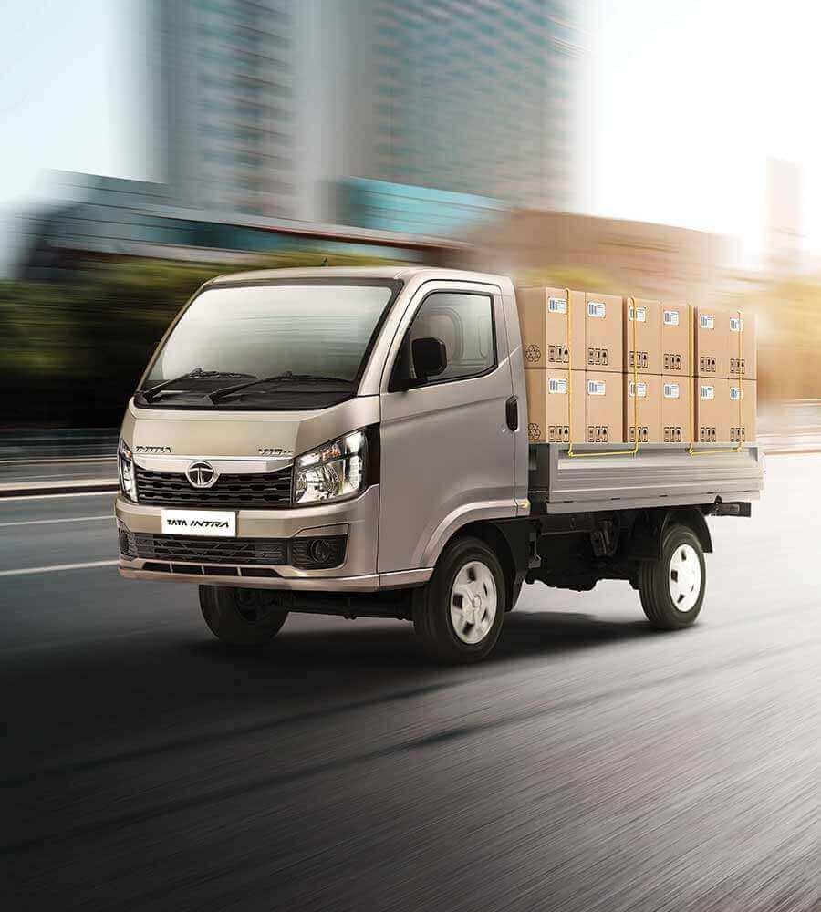 Tata Intra V10 Loaded Truck
