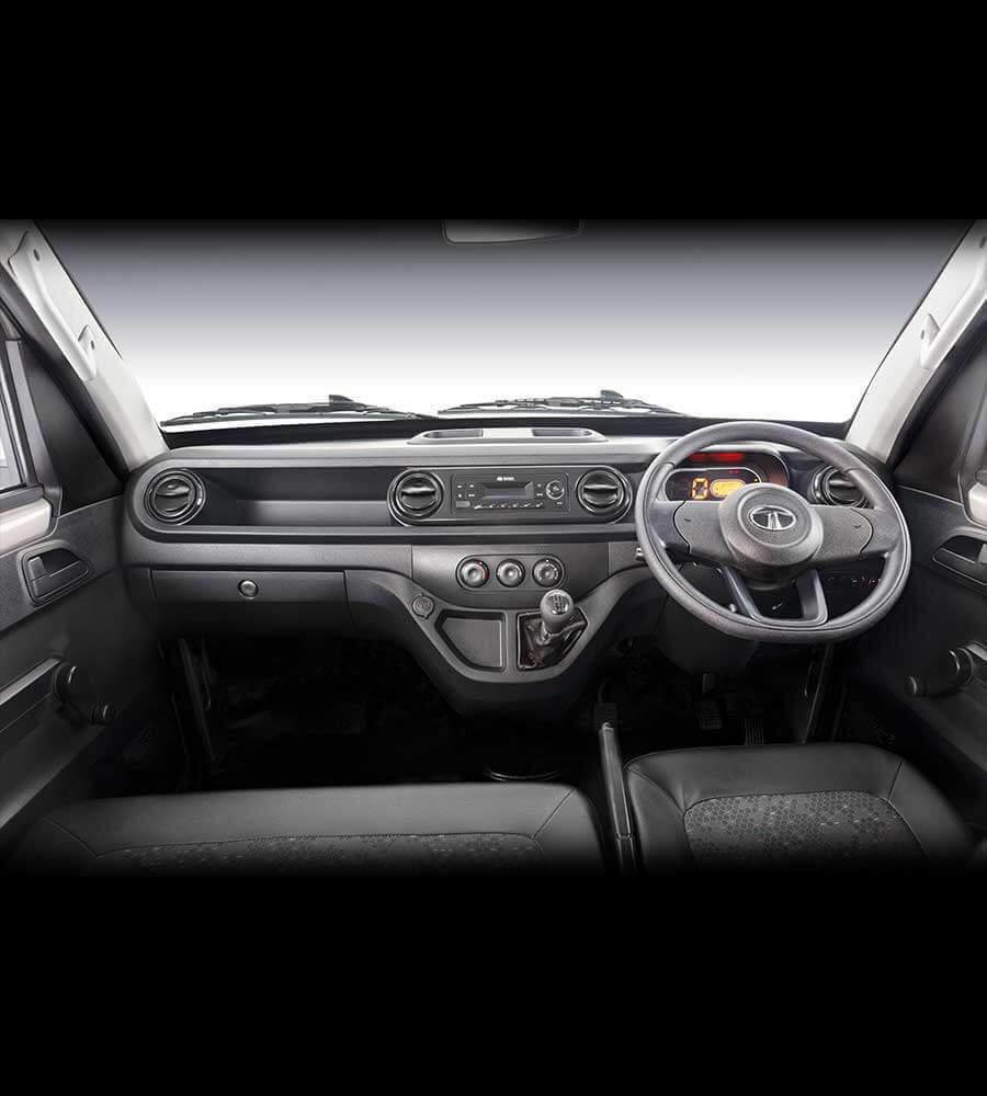 Tata Intra v10 Truck interior Dashboard