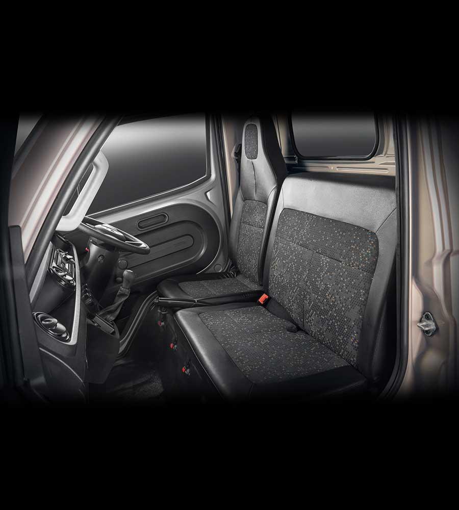 Tata Intra v10 Truck Interior
