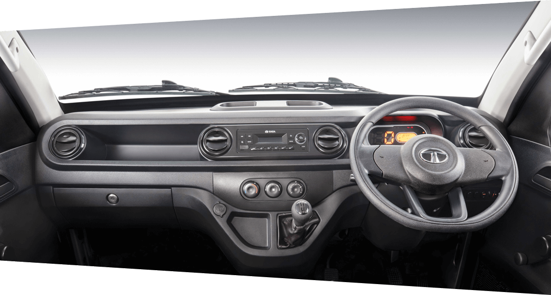 Tata Intra v10 Interior Dashboard