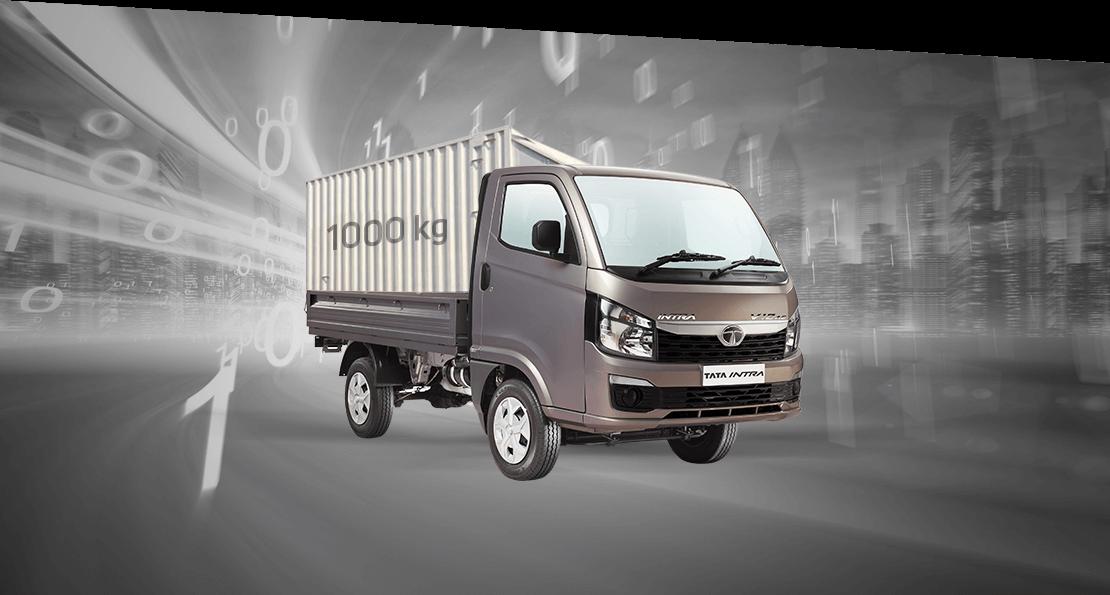 Tata Intra V10 truck Grey Colour