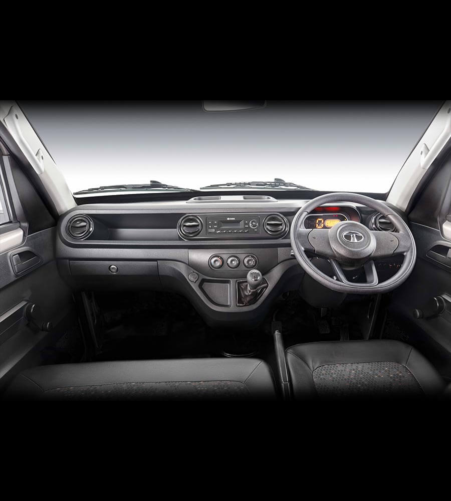 Tata Intra V10 Truck Interior Front view