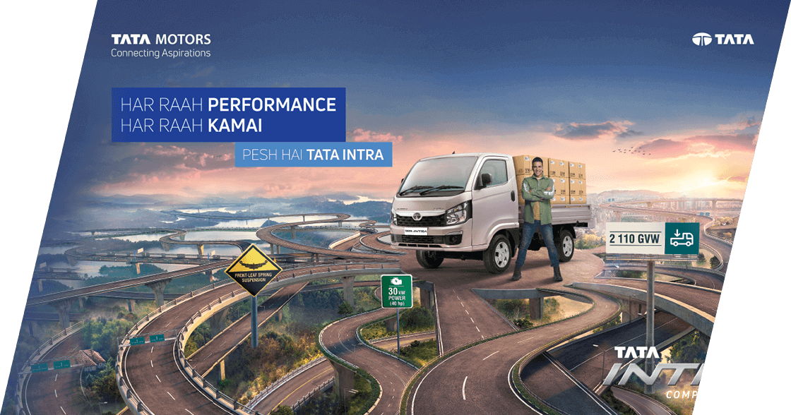 Tata Intra V10 Truck Brochure