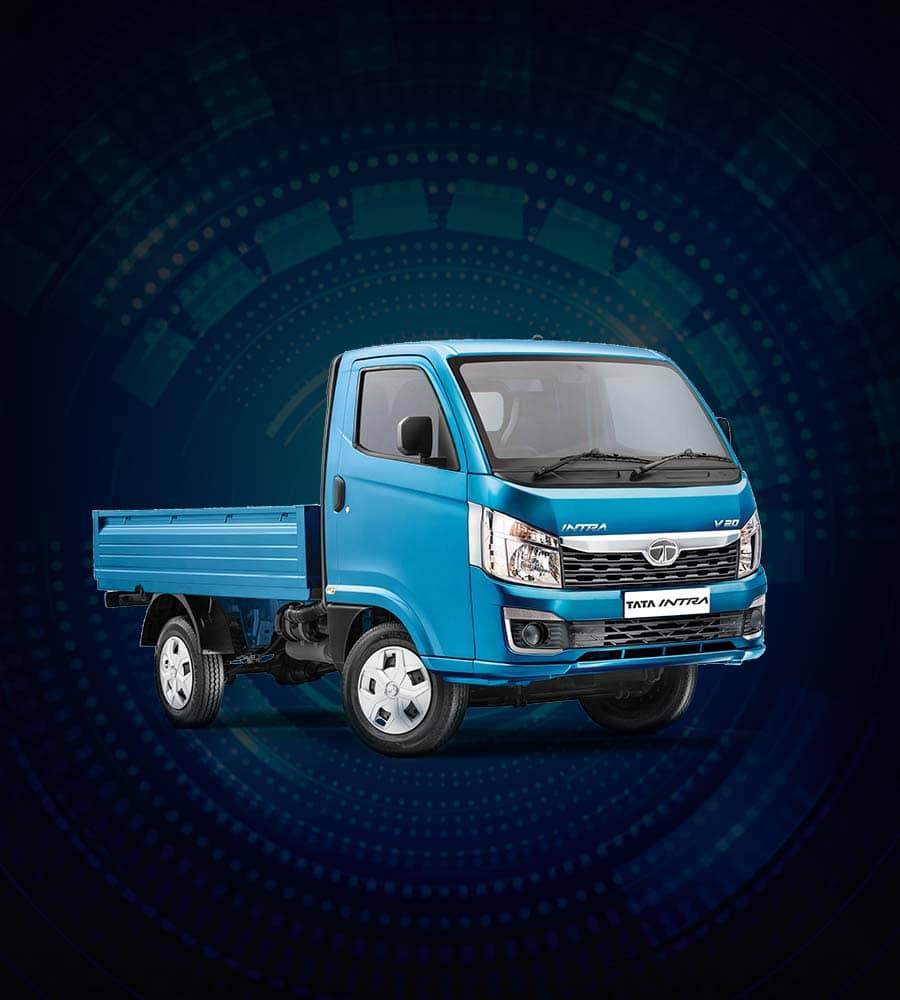 Tata Intra V20 Blue Truck