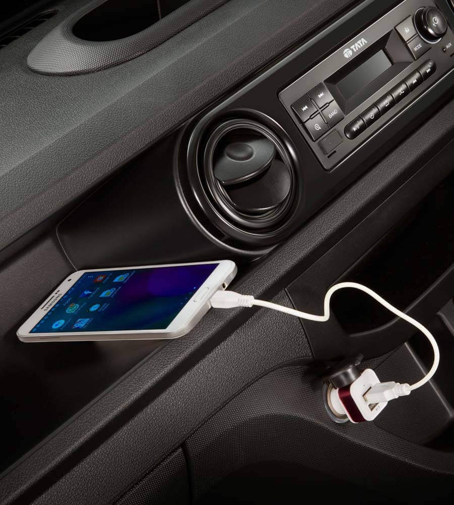 Tata Intra V20 Mobile charger