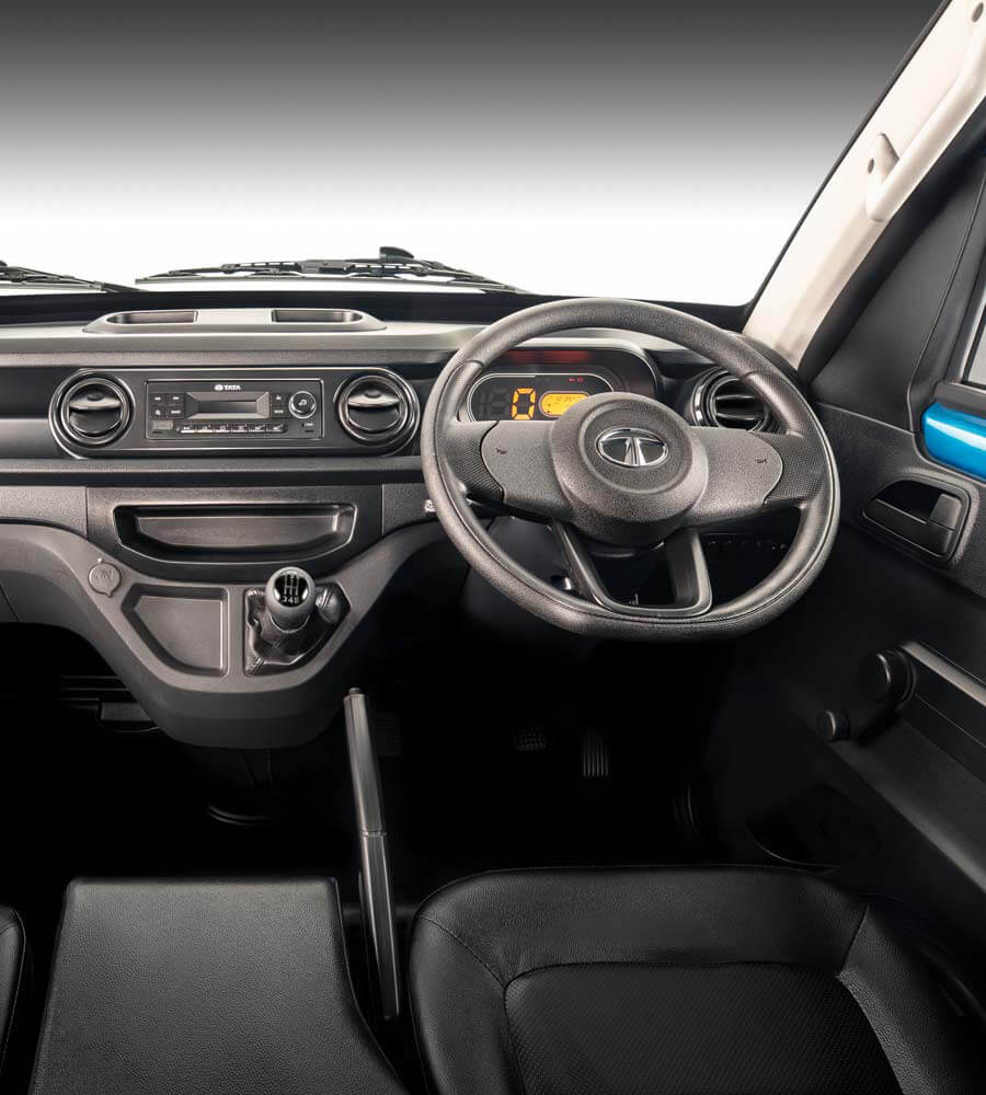 Tata Intra V20 Interior Dashboard