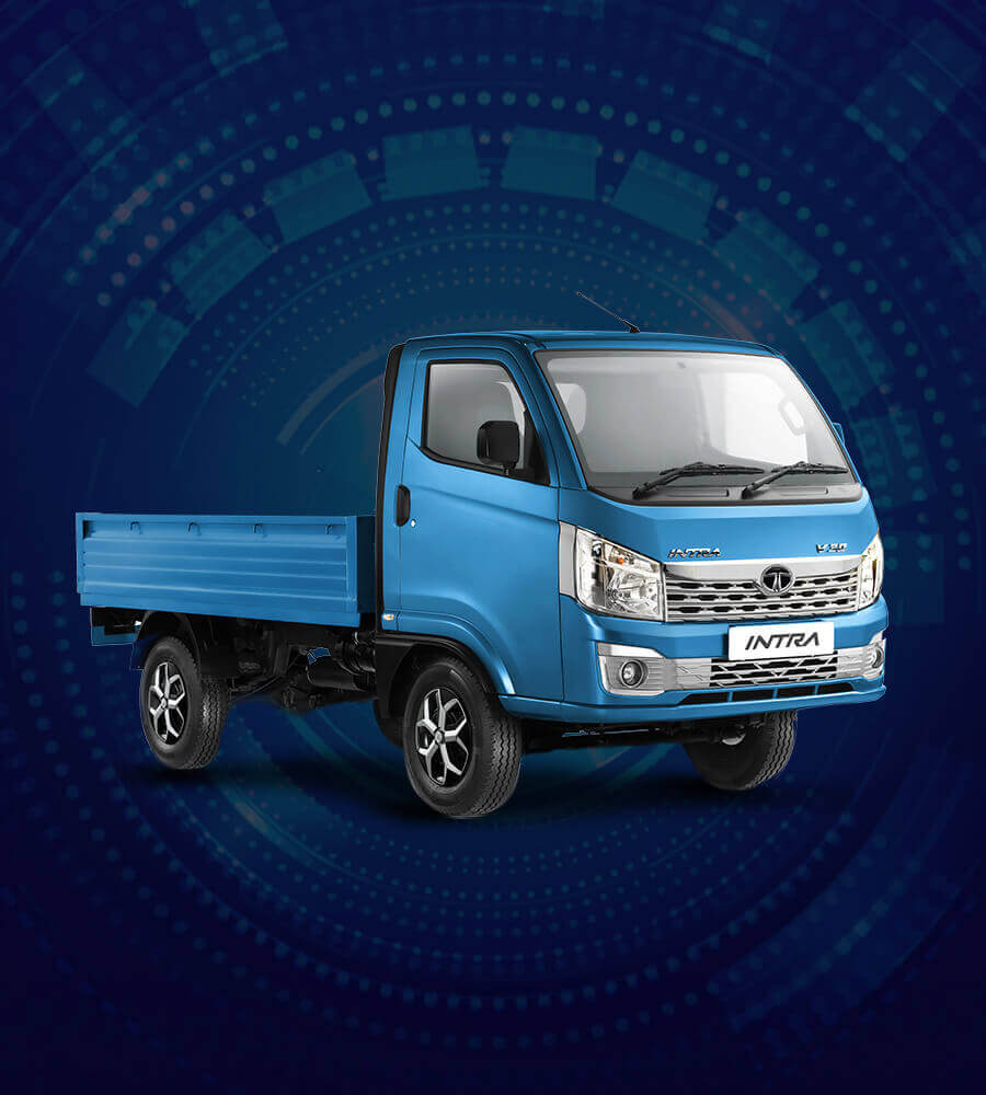 Tata Intra Truck Flat Front View