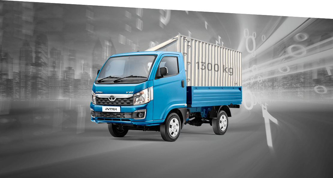Tata Intra V30 Blue Truck Loading Capacity