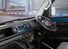 Tata Intra V30 Interior Dashboard
