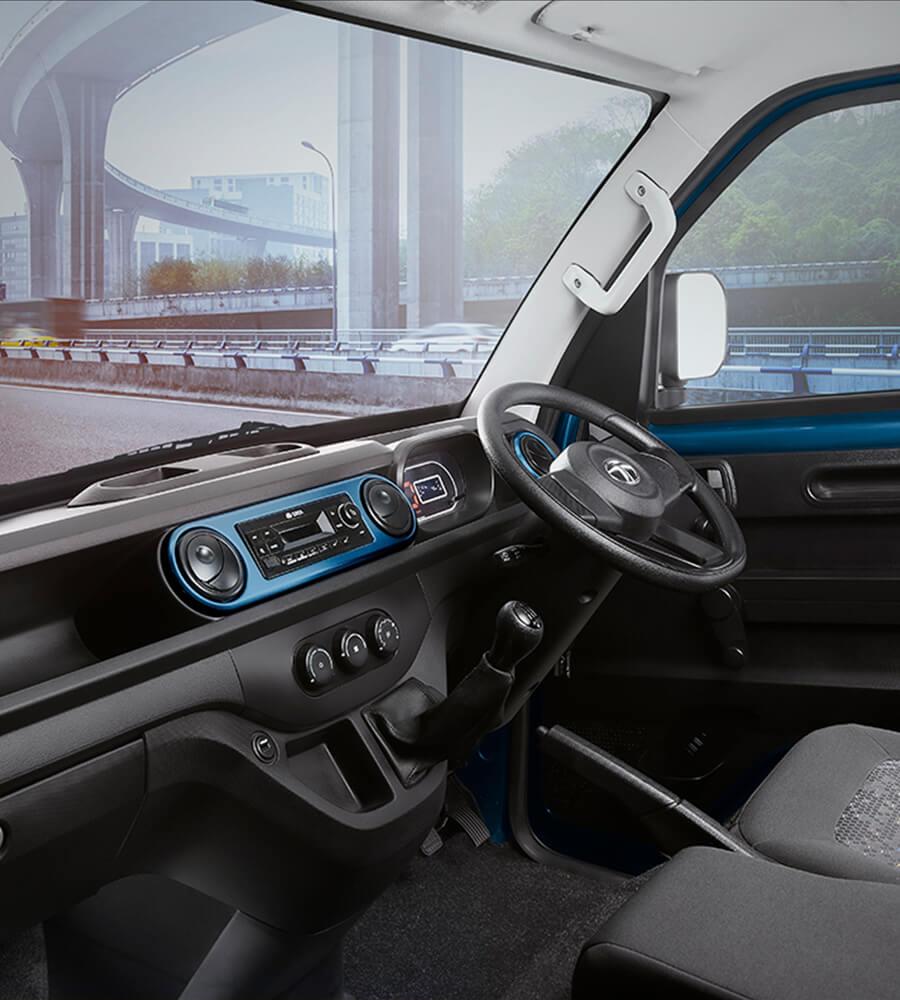 Tata Intra V20 Dashboard