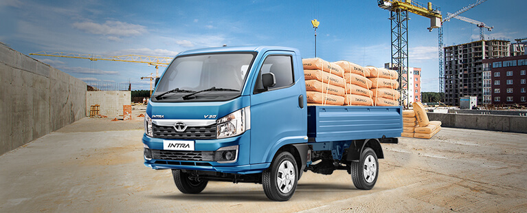 Tata Intra construction trucks
