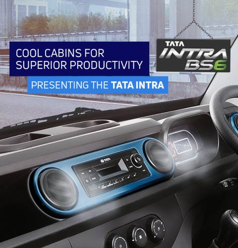 COOL CABINS PRODUCTIVITY PRESENTING THE TATA INTRA