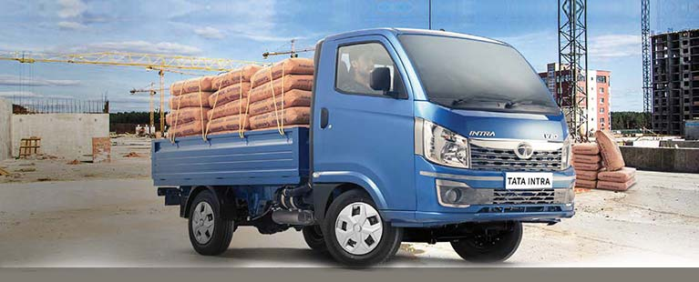 Tata Intra construction trucks